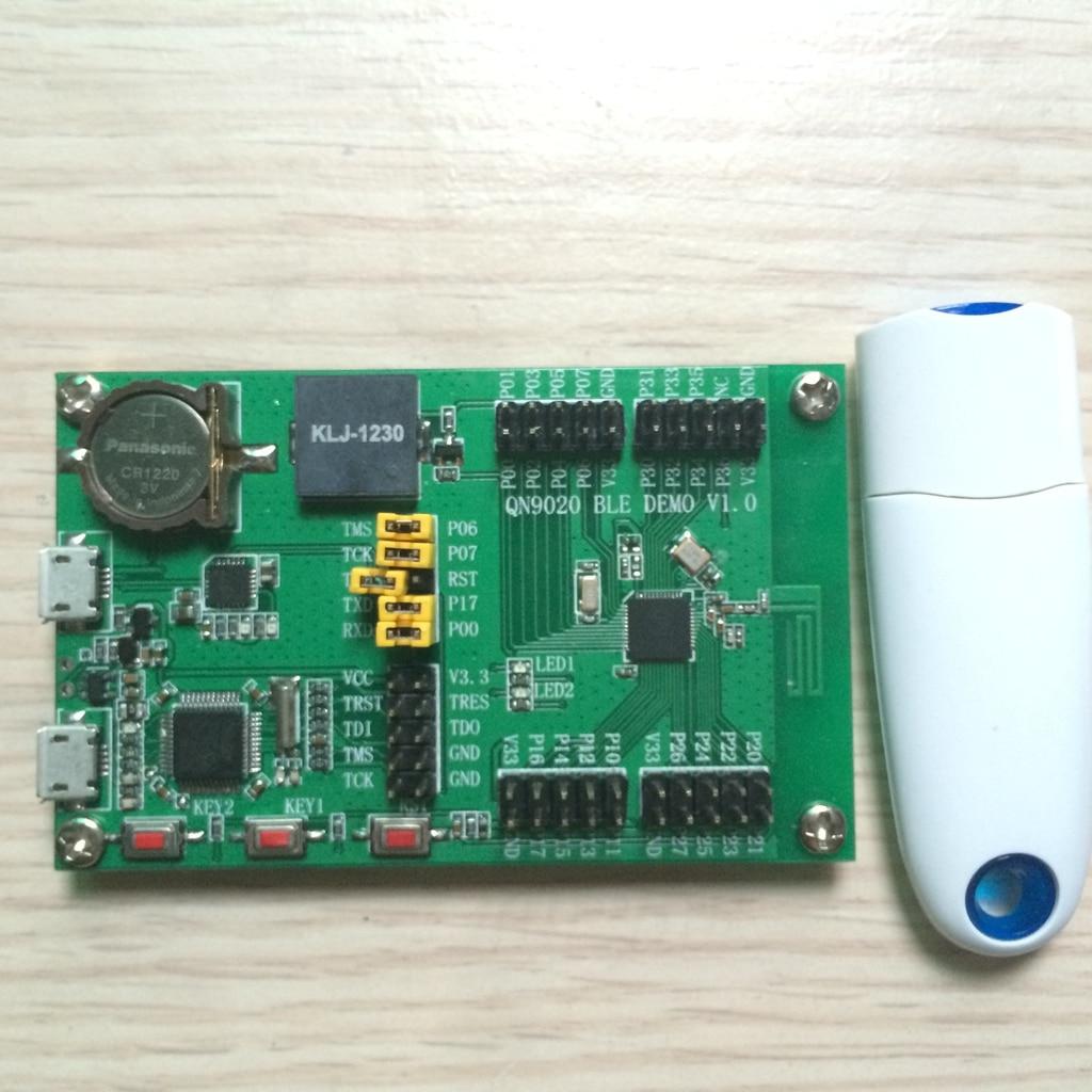 Kun Tian Ke QN9020 QN9021 Development Board USB Dongle Provides SDK Bluetooth 4 BLE bluetooth 4 ble multifunction pedometer keyfob development board to support the anti lost ibeacon