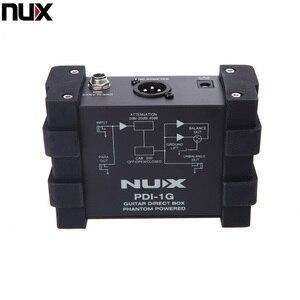Image 3 - المهنية NUX PDI 1G الغيتار المباشر حقن فانتوم صندوق الطاقة جهاز مزج الصوت الفقرة خارج المدمجة تصميم المعادن الإسكان