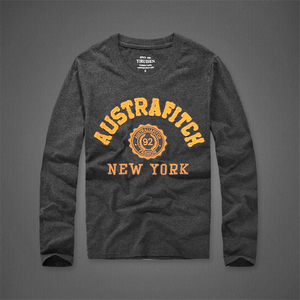 Image 5 - 長袖 tシャツの男性の春と秋のラウンド襟カジュアルコットン Tシャツサイズ s 3XL