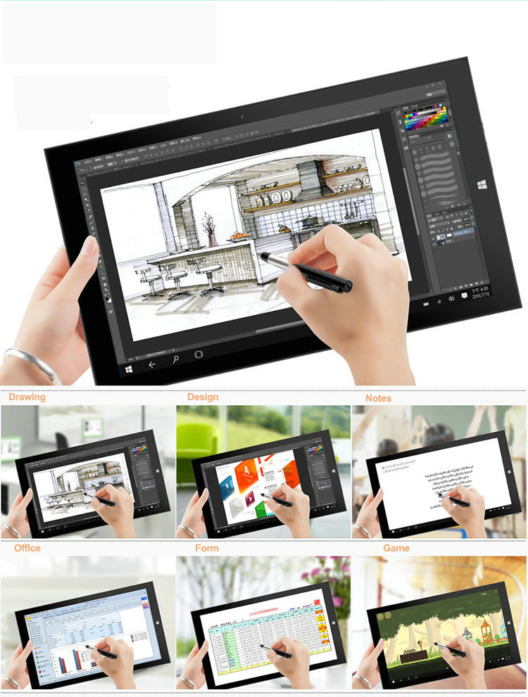 Active Pen Capacitive Touch Screen Pen For Teclast X4	 11.6