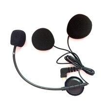 Новинка 2019, микрофонный микрофон с разъемом USB Type-C для мотоциклов и мотоциклов, Bluetooth, переговорное устройство для шлемов с открытым лицом, д...
