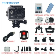 TEBERBOOM S2R 4K Action Camera WiFi Waterproof underproof diving go Sport HD  1080p