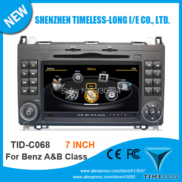 Timeles-long 3G Wifi Car DVD For MERCEDES BENZ A Class W169 2004-2011 B Class W245 2005-2011 With GPS Radio BT 20 Disc Playing