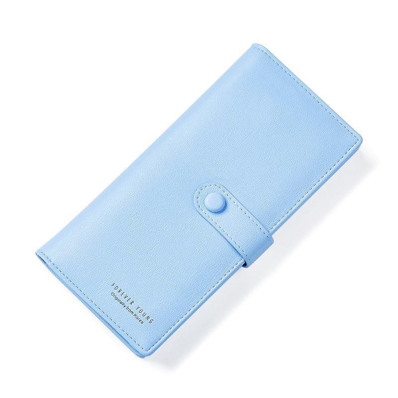 Weichen Girl Wallet Card-Holders Coin-Pocket Female Purse Long Women Slim Korean-Style