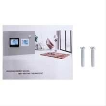 Touch Key Programmable Weekly Thermostat for 4 Pipe Fan Coil Units (without wifi function)
