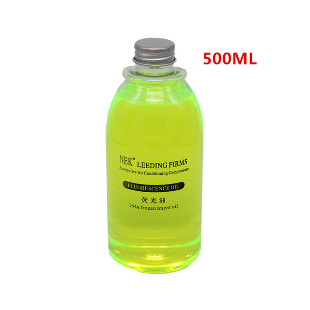 Free Shipping,500ml,Fluorescent oil,Ultraviolet oil leak detection Automobile air conditioning system