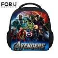 FORUDESIGNS New Arrival Small Kindergarten Baby School Bags,Kids Hulk Bags Captain America Backpack,Children Avengers Schoolbags