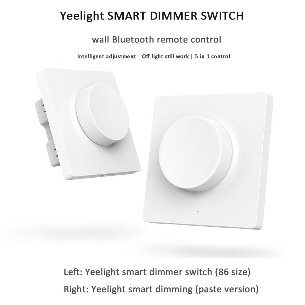 Smart Wireless Bluetooth Dimmer Switch with Timing Remote Control Function  LO88Smart Wireless Bluetooth Dimmer Switch with Timing Remote Control Function  LO88