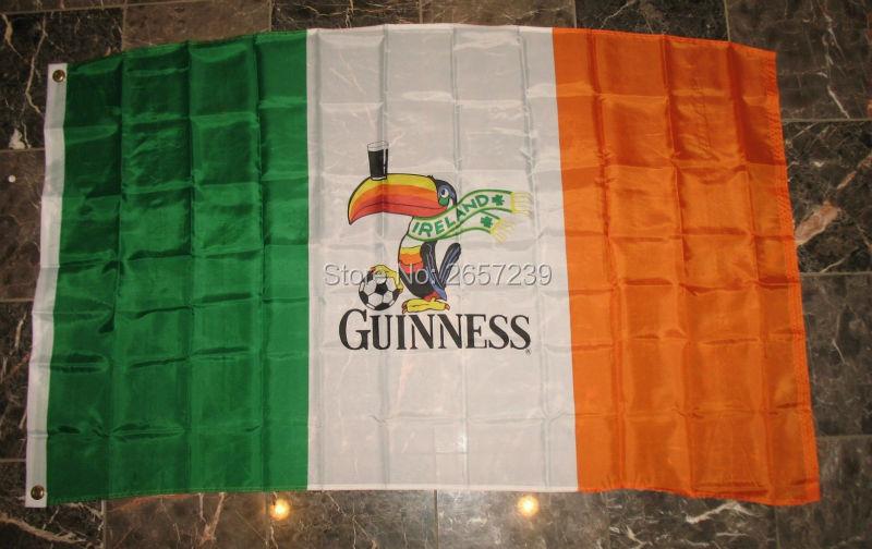 North Irish horse battle honours Fringed flag 3X5 ft