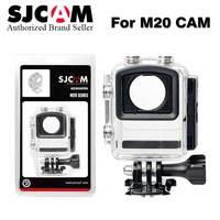 2017 100 Original SJCAM Accessories Waterproof Case Underwater 30M Dive Housing Case Camcorder For SJCAM M20