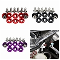 High quality universal 8PCS/SET Racing Style Fender Washers Bumper Washer Lisence Plate Bolts Kits For honda civic