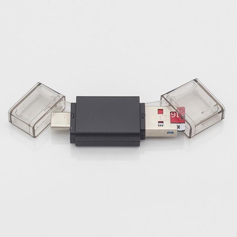 Картридер мобильный телефон Планшеты Портативный multi Функция USB 3.0 Тип-C Card Reader Адаптер для карты памяти