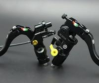 Motorcycle modification22mm 19RCS Brake Clutch Levers Master Cylinder Hydraulic Pump Reservoir For Honda Suzuki Kawasaki Yamaha