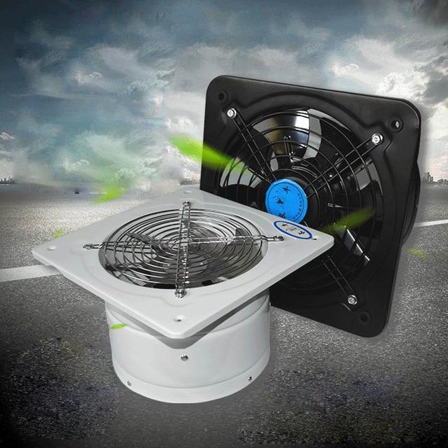 High speed fan Kitchen Pipe exhaust fan Industry Blower Air ejector fan TOILET bathroom Diameter 200mm fan window kitchen fume exhaust fan mute shutter blower