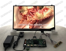 2 HDMI + VGA + DP + Áudio 4 K suporte placa controladora LCD 15.6 polegada painel lcd com 3840*2160