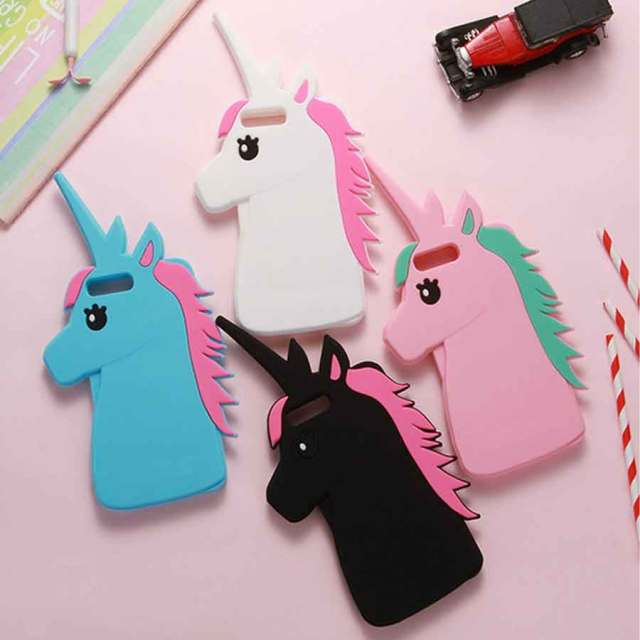 coque iphone 7 3d licorne
