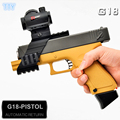 Hot G18 Electronic Toy Gun ABS Gel ball bullet Glocky toy guns water bullet nerfie Carbine pistol toys for Children cool gifts