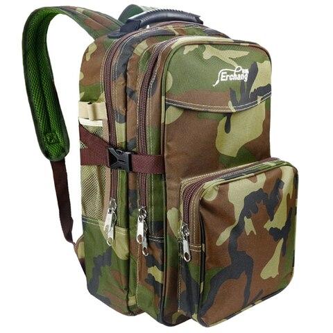 erchang camo dos homens mochila militar lazer esportes dois em um mochila ao ar livre