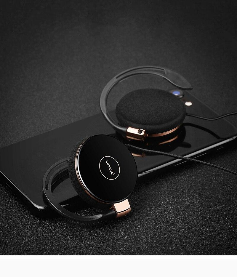 Original Picun L1 New Stereo Earphone Wired Sports Earphone Airpods FOE De Ouvido For iPhone X Samsung Note 8 HTC LG Xiaomi Q