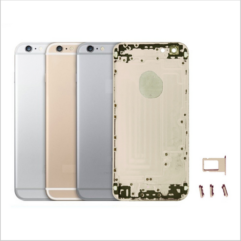 Replacement For iPhone 6 4 7 Back Cover Case Housing Battery Door With Middle Metal Frame