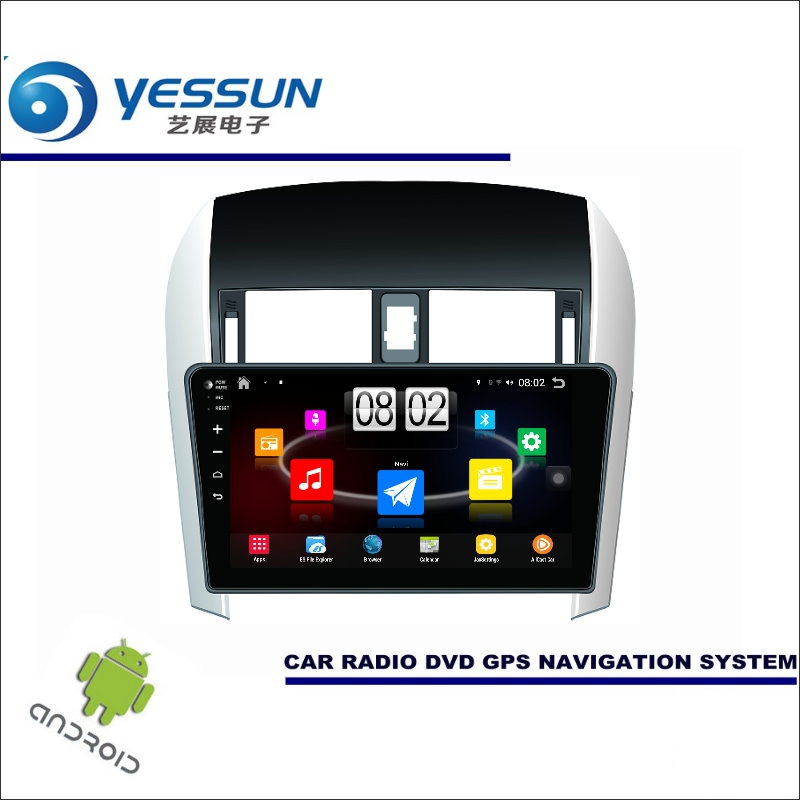 YESSUN Car Android Player Multimedia For Toyota Corolla 2006~2013 Radio Stereo GPS Nav Navi Map ( no CD DVD ) 10.1 HD Screen