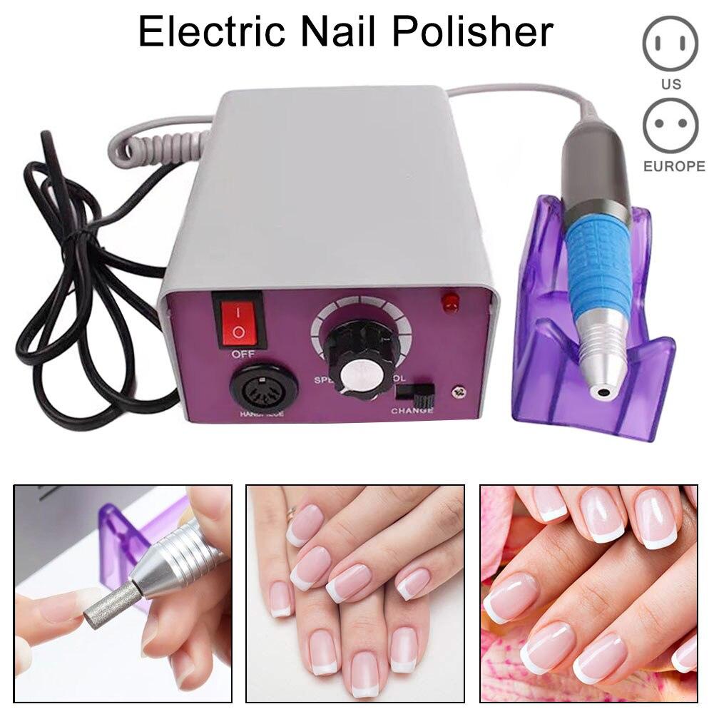 Nail Grinding Polisher Electric Nail Art Machine Kit 25000 RPM Drills Bits File Manicure Pedicure Tool Set For Women Nail Art