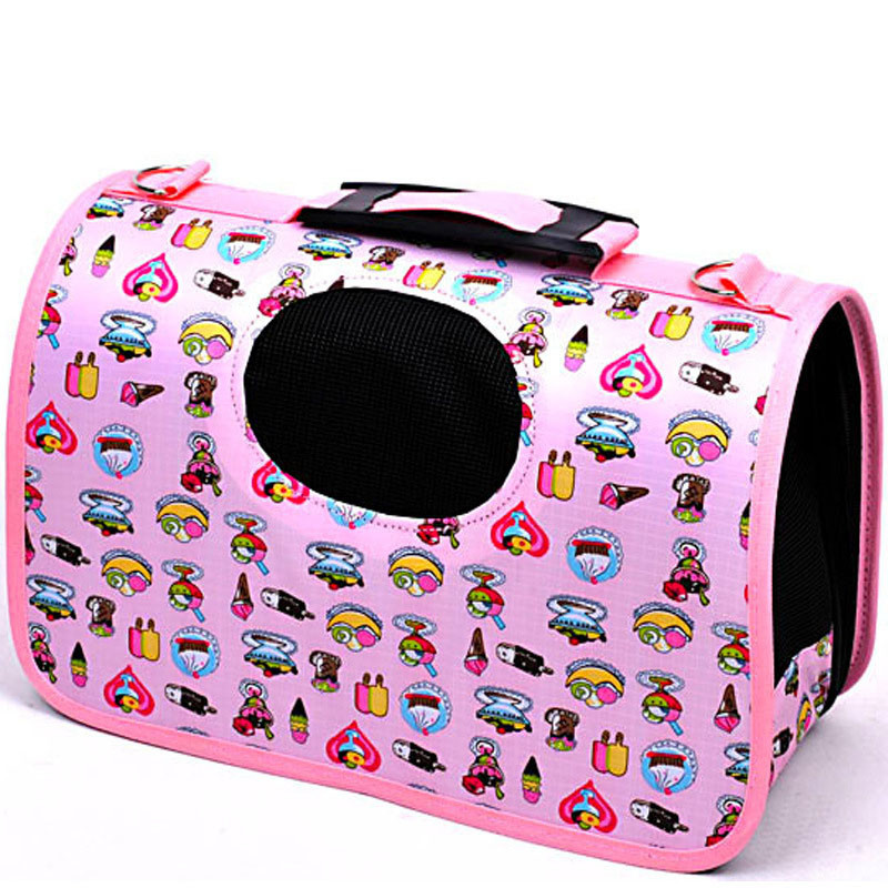 Breathable Pet Dog Cat Carrier Bag Dog Carry Hand Travel Tote Shoulder Designer Dog Carrier Bags Puppy Backpack For Pet