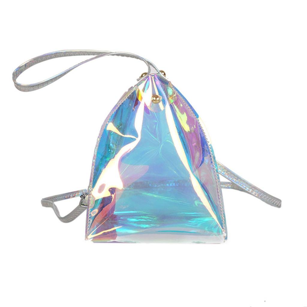 New Fashion Designer Colorful Zipper Leather Handbag Women Shoulder Bag Laser crossbody Bags For Women bolsa femininaNew Fashion Designer Colorful Zipper Leather Handbag Women Shoulder Bag Laser crossbody Bags For Women bolsa feminina