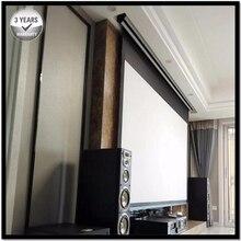 Prémio Tab-Tensão, 92-polegada 16:9, 4 k Elétrica Tensionada Motorizada Projetor Tela de Projeção, cinema Branco T2169092CW