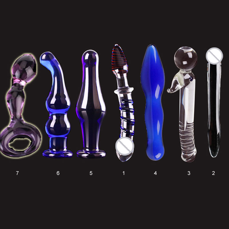 New Style Masturbation Glass Penis Suits Adult Appliances Massage Stick Promotion Price