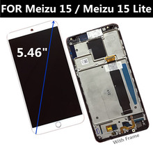 цена на AMOLED FOR Meizu 15 LCD Display Touch Screen Digitizer Assembly Replacement Accessories FOR Meizu 15 Lite