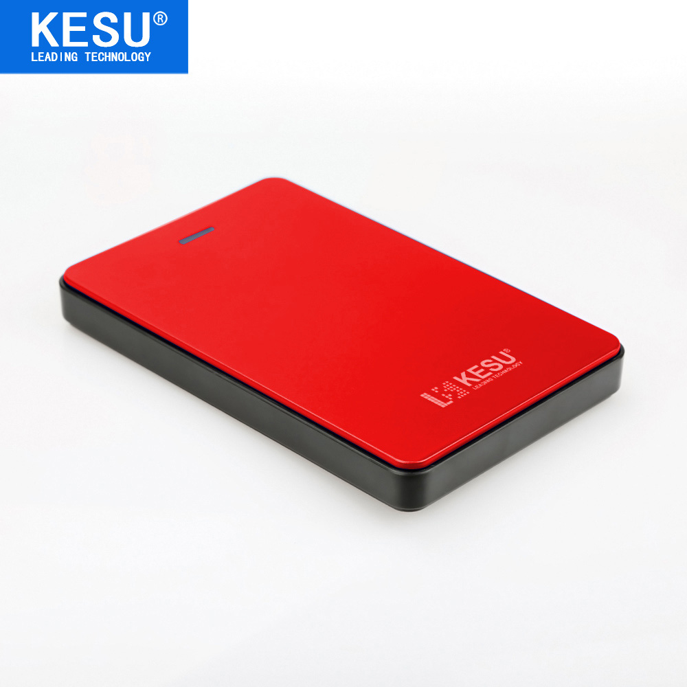 Original KESU 2.5 Inch External Hard Drive Storage USB 2.0 HDD Portable External HD Hard Disk for Desktop Laptop Server