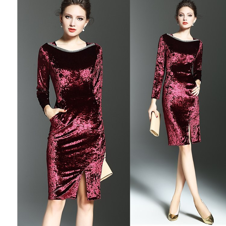 Couture Thick Polyester Dress