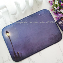 Front door mat bathroom mat soft warm strong water absorption The evening carpet with anti-slip back