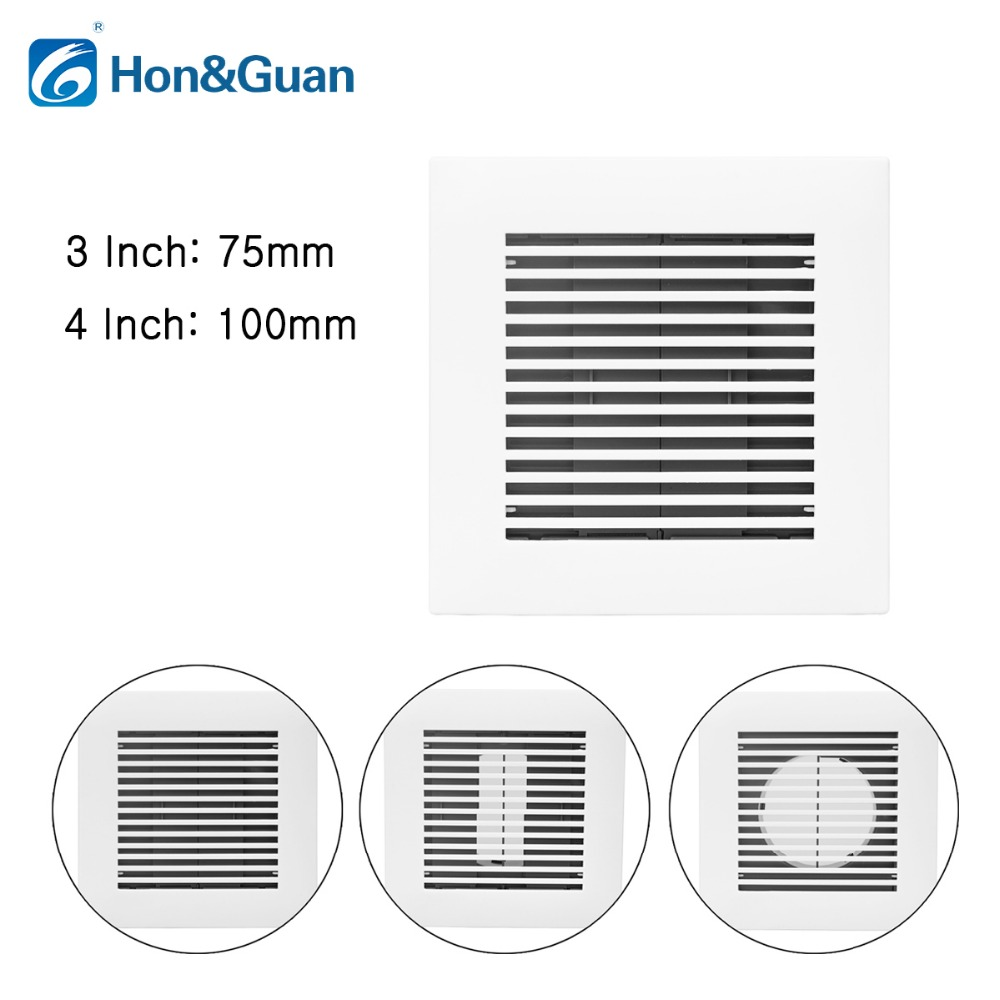 Hon Amp Guan 3 4 Square Air Vent Abs Grille Cover White