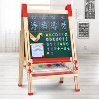 Qiao Zhimu детская двухсторонняя магнитная доска для картин может быть использована для поднятия учеников начальной школы.