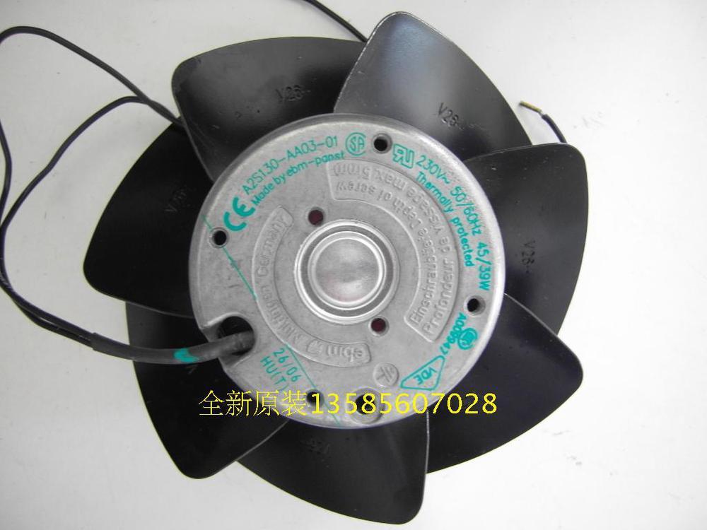 PAPST New original ebmpapst Blowers A2S130-AA03-01 230V temperature fan
