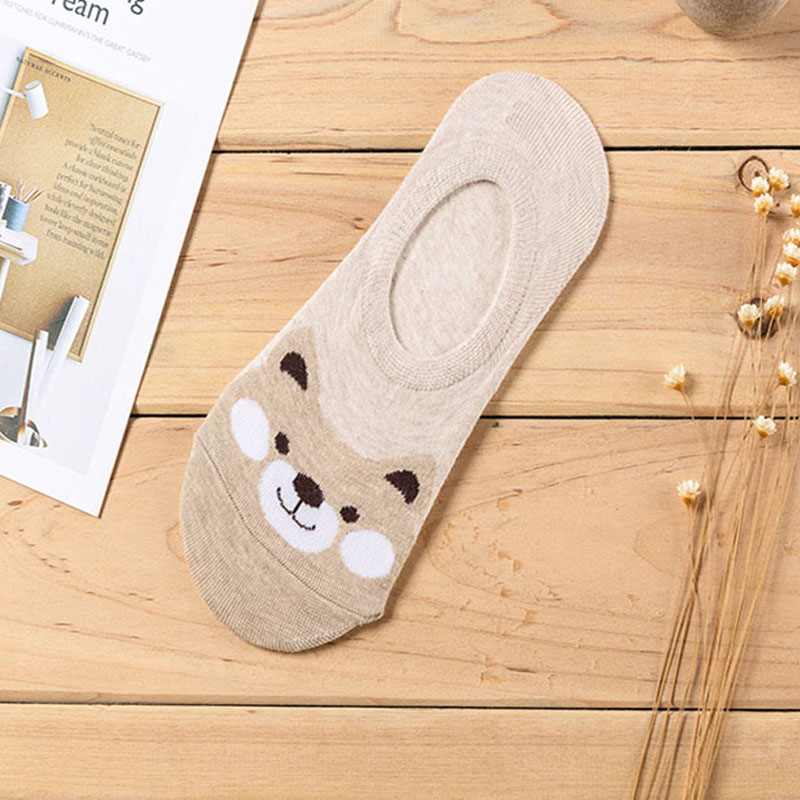 HTB1LouYQa6qK1RjSZFmq6x0PFXaB - 5 Pairs/lot Women Socks Candy Color Small Animal Cartoon Pattern Boat Sock for Summer Breathable Casual Girls Funny Fashion