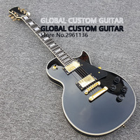 2017 New Wholesale Custom shop The piano black color electric guitar Custom LP electric guitar HOT! Free shipping