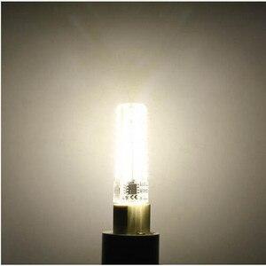 Image 3 - 50 יחידות מיני G9 מנורת LED 10 W ניתן לעמעום AC220V/110 V 2835 SMD 72LED נברשת אור הנורה תירס לבן חם/לבן משלוח חינם