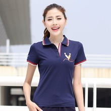Women's polo shirts New solid color printing short sleeve Polo woman raph Big size boutique ralphwomen women T043