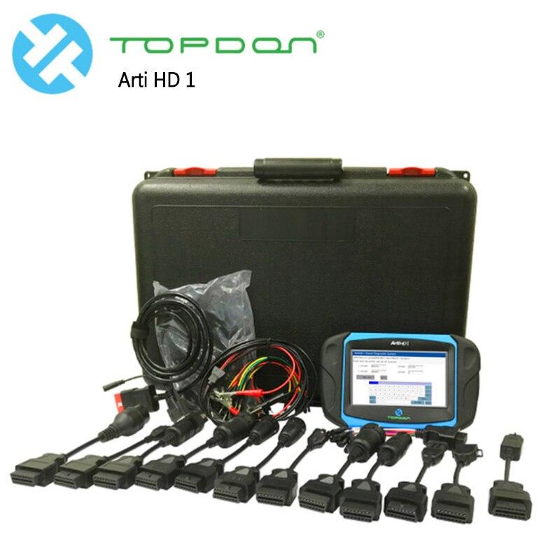 c9aa82bf745f Грузовик сканер инструменту диагностики automotivo диагностики ЭКЮ  программист Topdon Arti HD 1 Heavy Duty программисты и кодирования