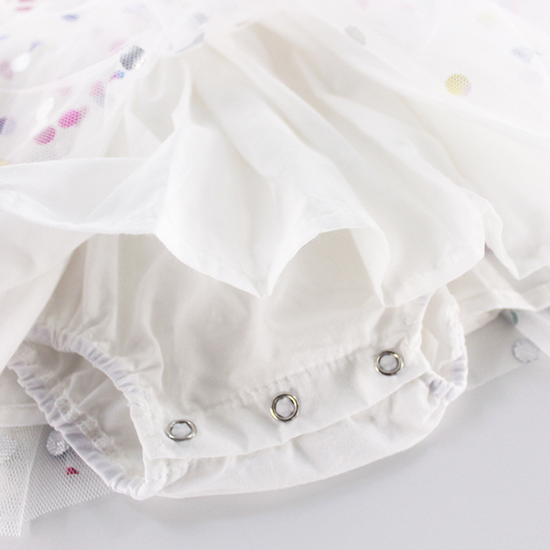Baby Girl Dress Summer 2019 Newborn Baby Dress Polka Dot Baby Girl Clothes First 1st Birthday Dress For Baby Girl Princess Dress