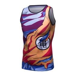 High quality men tight vest dragon ball z fitness tank tops son goku vegeta 3d t.jpg 250x250