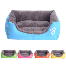 Hot SalesDog Kennel Soft Dog beds Puppy Cat Bed Pet House for Small and medium Dog Pad Winter Warm Pet Cushion Pet Products