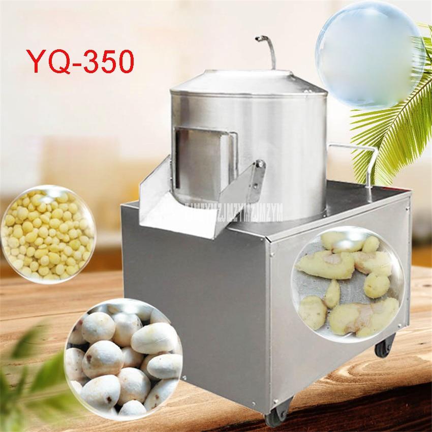 220V/110V Potato Peeling Machine YQ-350 Model 150-220kg / H, Commercial Peeler Machine Potato Cleaning Machine Taro Sweet Potato