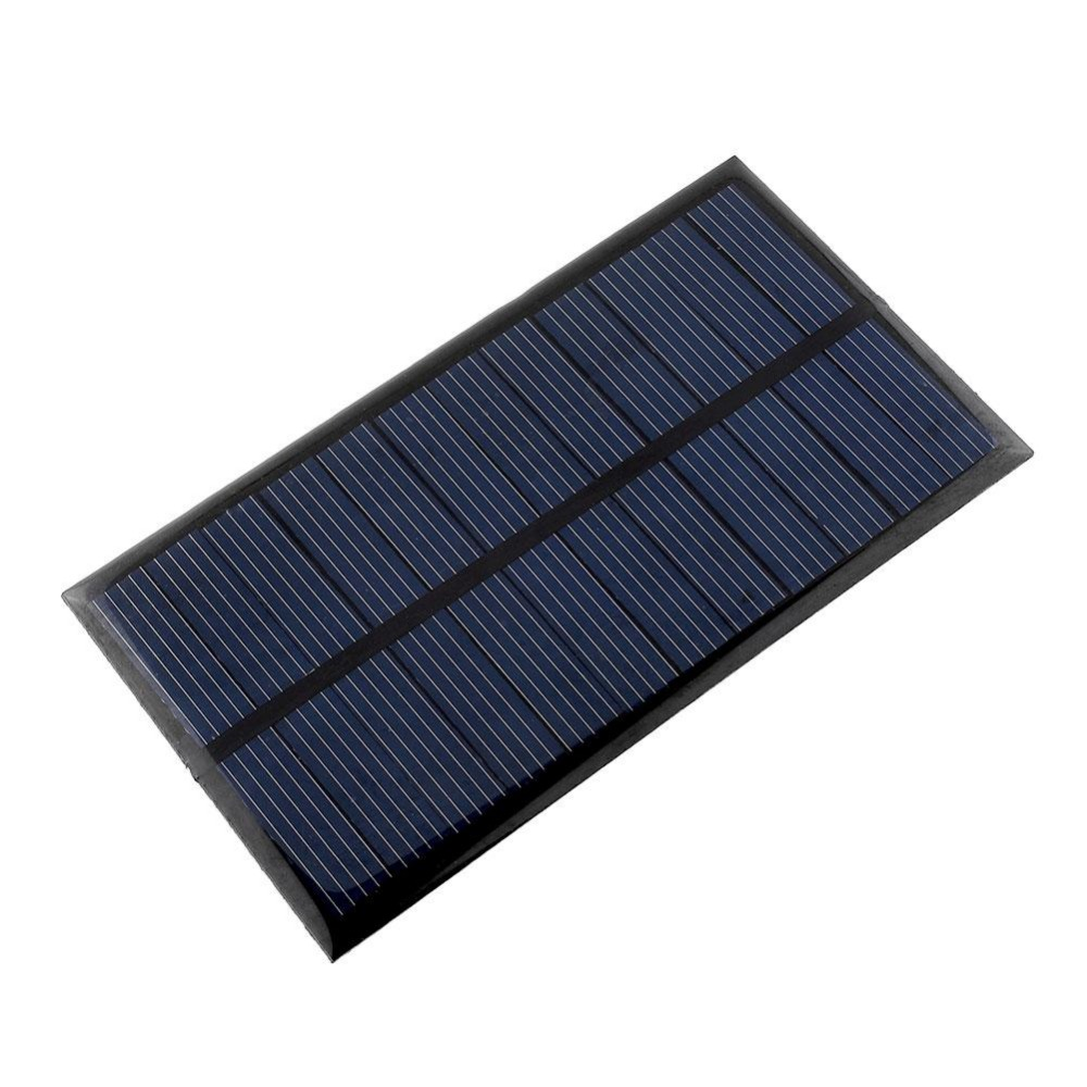 4-pieces Mini 6V 1W Solar Power Panel Bank Solar System Module DIY Home Solar Panel For Light Battery Cell Phone Toys Chargers