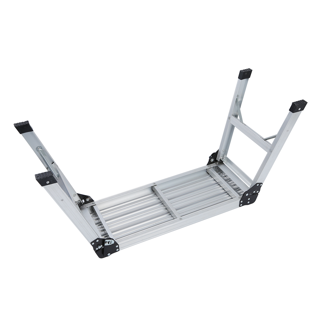 775MM Aluminium Platform Work Bench Folding Step Ladder EN131& CE 150Kg Hop UP775MM Aluminium Platform Work Bench Folding Step Ladder EN131& CE 150Kg Hop UP