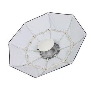 Image 3 - 100cm 화이트 휴대용 접을 수있는 아름다움 접시 옥타곤 Softbox Bowens 마운트 Bowens godox 스튜디오 플래시