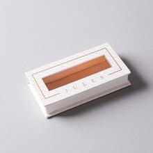Заказная упаковочная коробка для ресниц, красочная картонная коробка с рисунком с защитой от УФ-излучения- PX10873